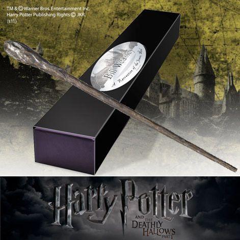 Harry Potter - Bacchetta Magica di Bill Weasley http://www.coltelleriacollini.it/harry-potter-bacchetta-magica-di-bill-weasley/