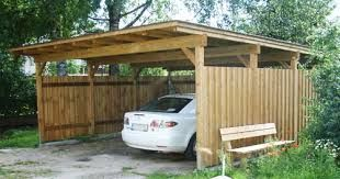 cheap CAR SHELTER OUT OF WOOD - Google Search