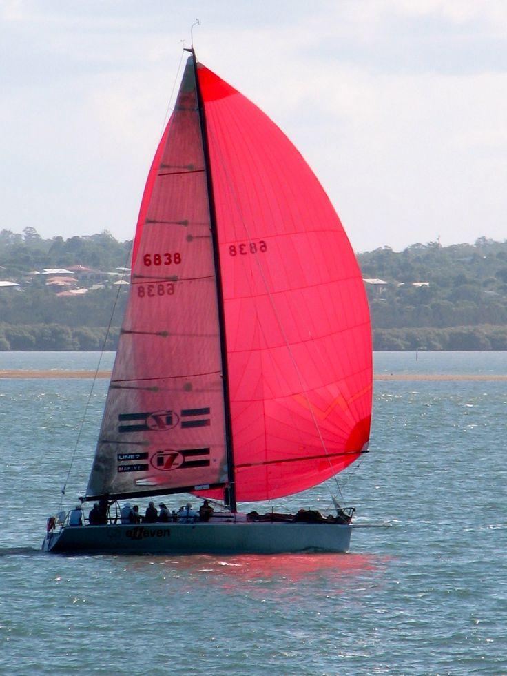 Sailing Moreton Bay