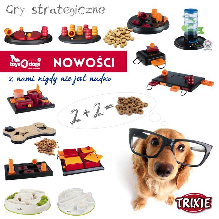 Psie łamigłówki  #łamigłówki #gry #toys4dogs #dlapsa #zabawa #zabawki #aktywniezpsem #trixie