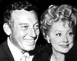Lucy and her second husband Gary Morton
