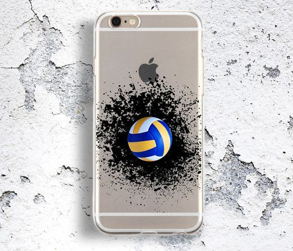 Transparent Tpu Splash Volleyball Case Iphone 6s Volleyball Players Cover Htc M9 Volleyball Fans Case Tricolor Volleyball Phone Cases Iphone Cheap Iphone Cases