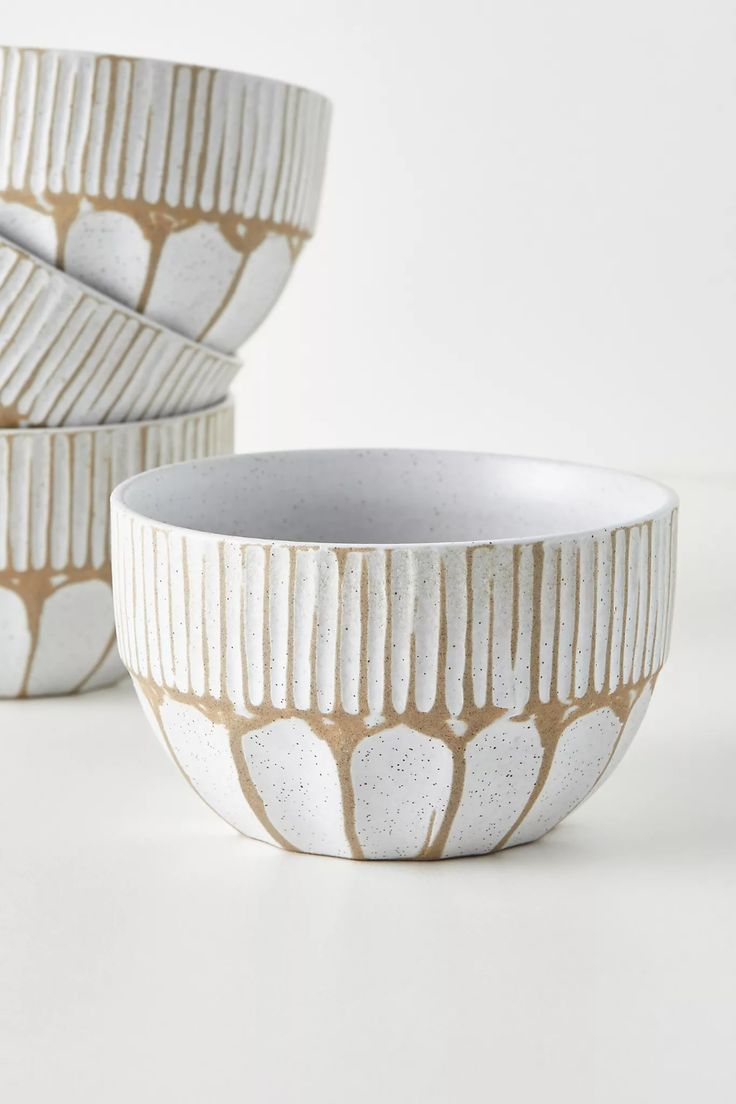 Amber Lewis for Anthropologie Jayme Bowls, Set of 4 | Anthropologie