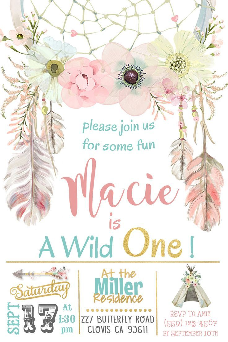 657 Best Birthday Invitations Images On Pinterest Birthdays
