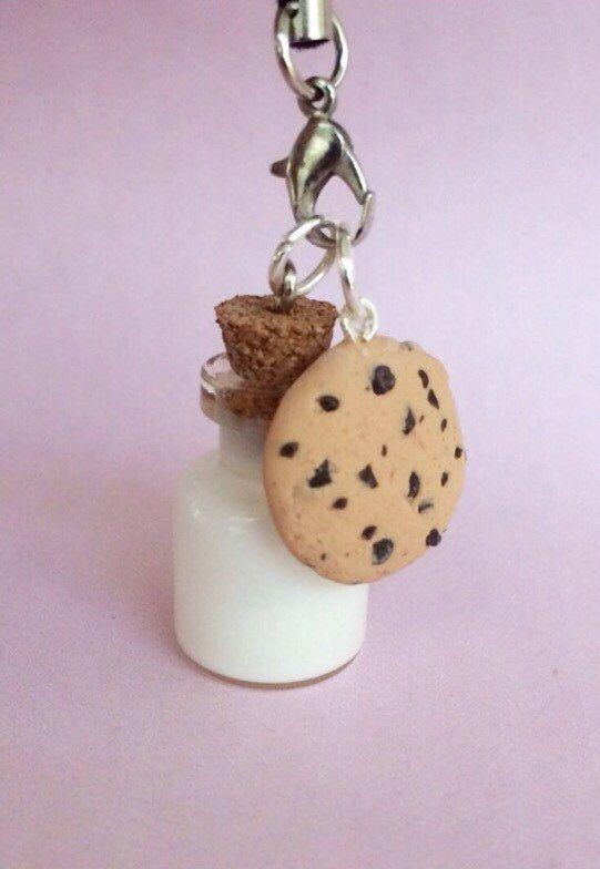 galletas de arcilla de polímero y el encanto de la galleta encanto leche por…
