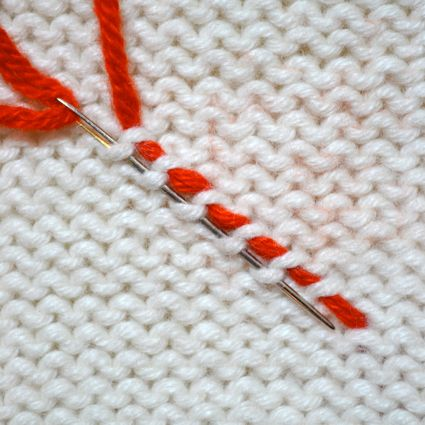 Weaving in Your Ends | The Purl Bee