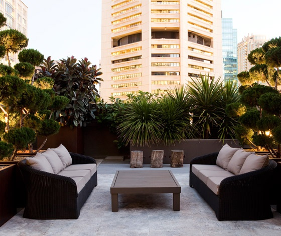 Nice lounge for the terrace