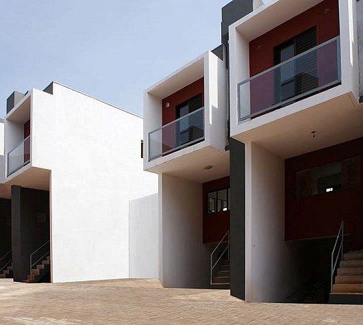Social housing: Box house in Sao Paulo, Brazil