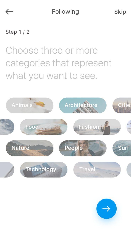 Tab selectors-filter