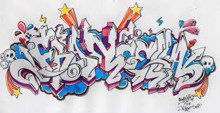 como aprender a dibujar letras en graffiti 2