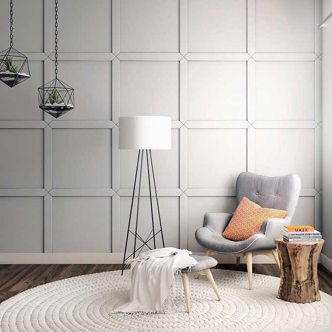 Square Wall Paneling Sold At Costco