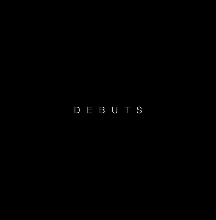 DEBUTS (edition 2014) - cover