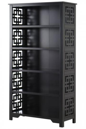Knot Bookcase  Asian Inspired Bookcase Adds an Elegant Touch  $279