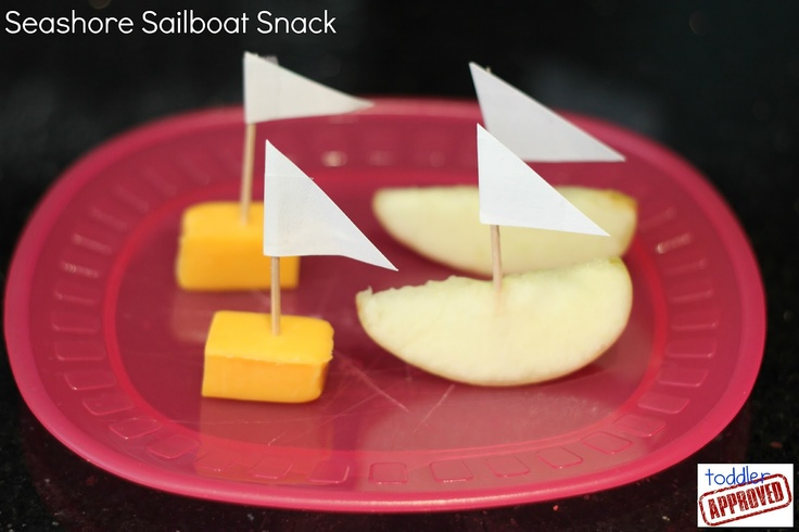 Toddler Approved!: Boats snack