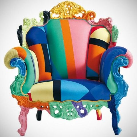 Proust Geometrica Armchair by Alessandro Mendini - $12000