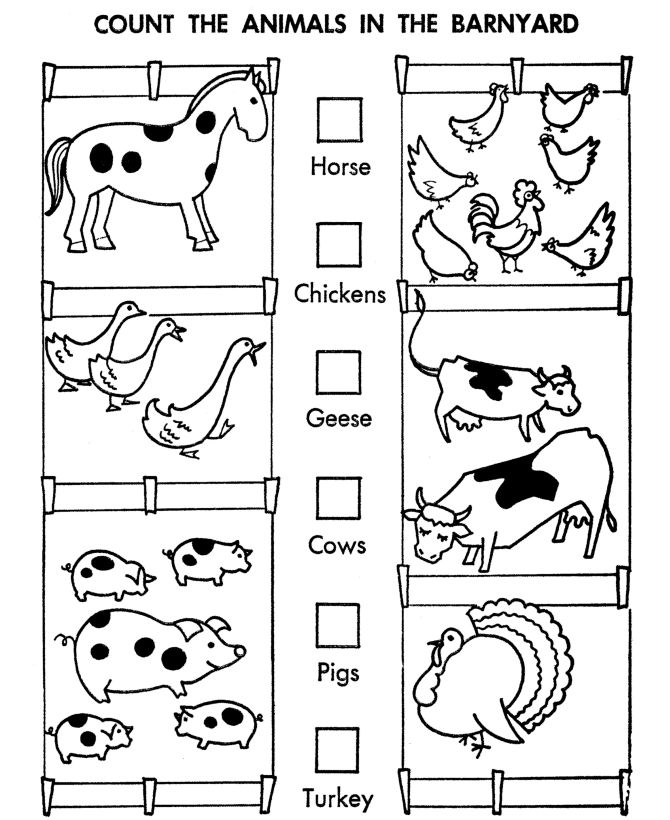 free printable counting coloring pages - photo#18
