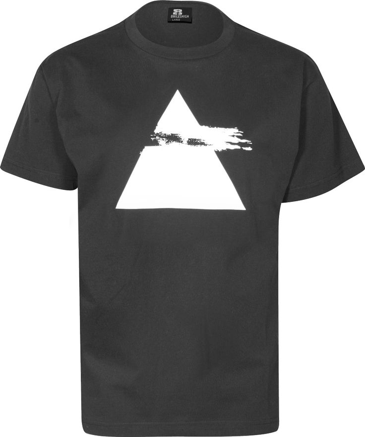 Eight Miles High Pyramid T-shirt black