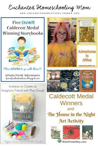 Caldecott Winners Activity For Kids