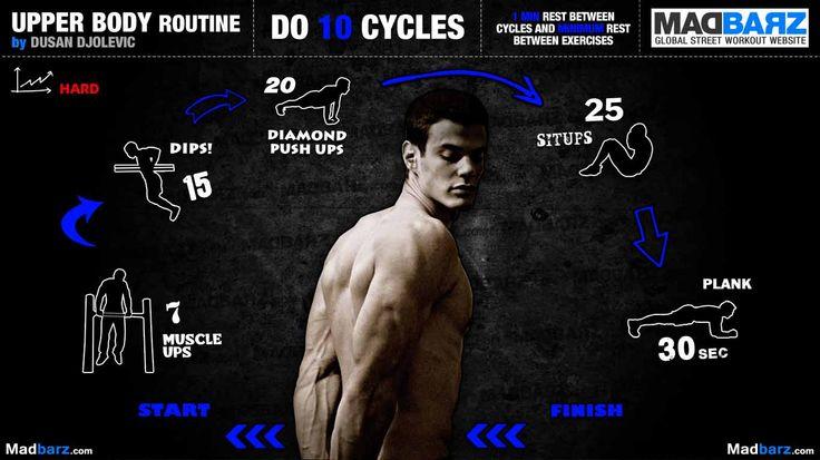 Dušan vymyslel parádní rutinu na vršek. Nejvíc dostane zabrat triceps a core.