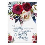 There Is A Season | Sympathy Note Card