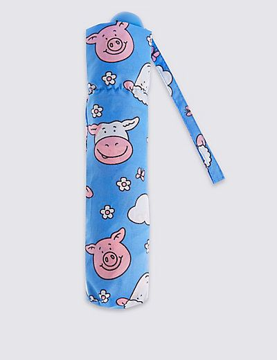 Percy & Pals Compact Umbrella with Stormwear™   M&S