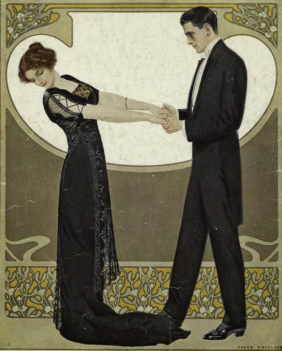 Clarence Coles Phillips (1880-1928) So Romantic