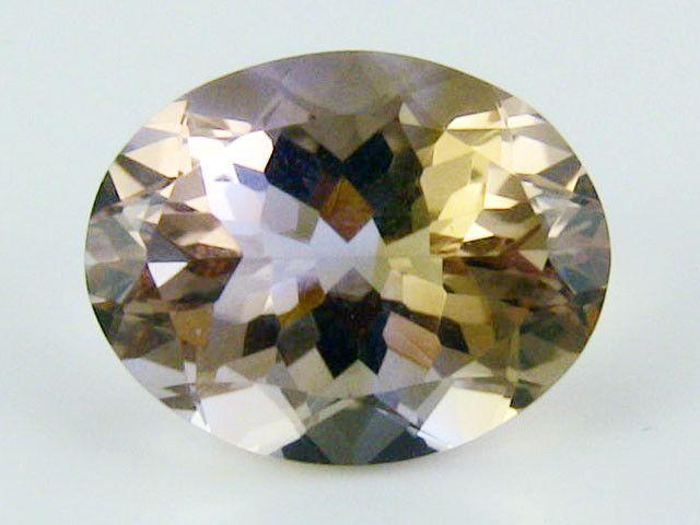 AMETRINE VVS QUALITY FACETED STONE 6.40 CTS SG 1875 Ametrine gemstone, my favourite purple colour stone, gemstones