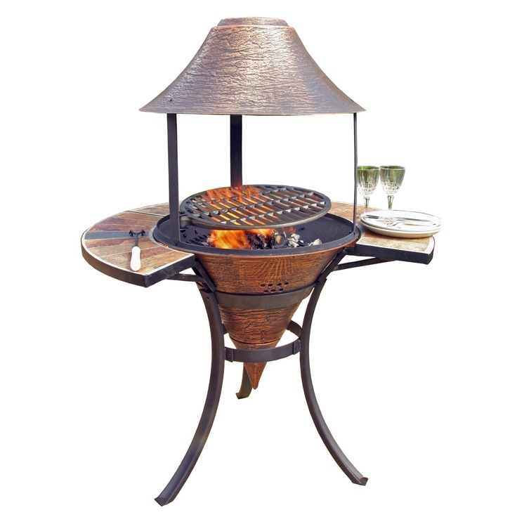 Aluminum Chiminea Aluminum Wood Burning Pyramid Steel: 17 Best Images About Fire Pits, Chimineas & Outdoor