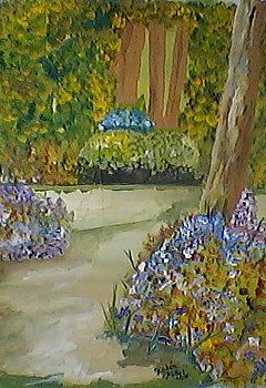 Wolking garden by Ruben Yubel Ortiz