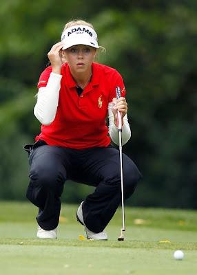 Kathleen Ekey, Hot American Female Professional Golfer Wallpaper Images