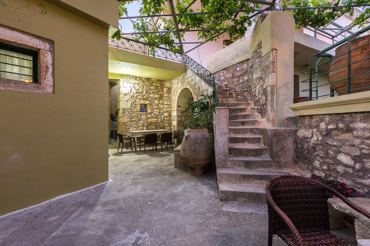 Patrico, Zouridi, Rethymno, Crete, Greece #Patrico #cottage_house #village #traditional_cretan_house #vacation_rental #holidays #traditional_accommodation #luxury #privacy #real_crete #visit_crete #authentic_Crete