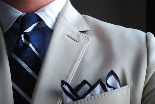 .Wedding Ideas, Men Style, Ties, Men Fashion, Suits, Grey, Blue Colors, Pocket Squares, White Collar