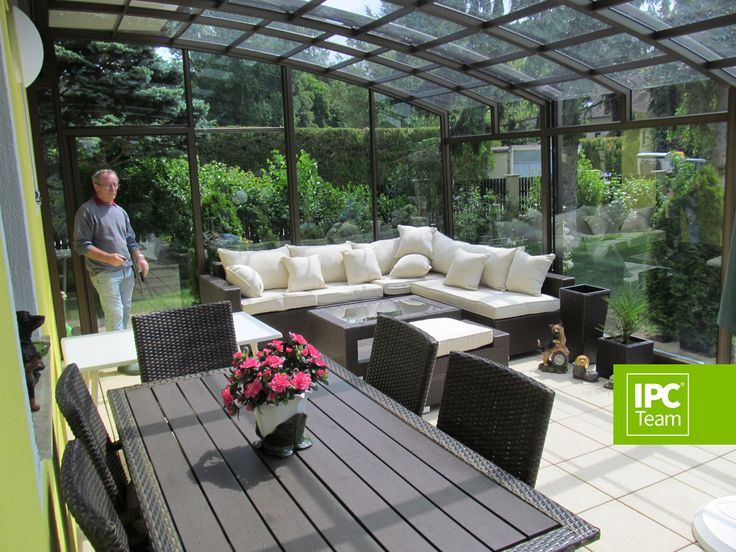 Multifunctional Patio enclosure is so great, imagine having this at home....