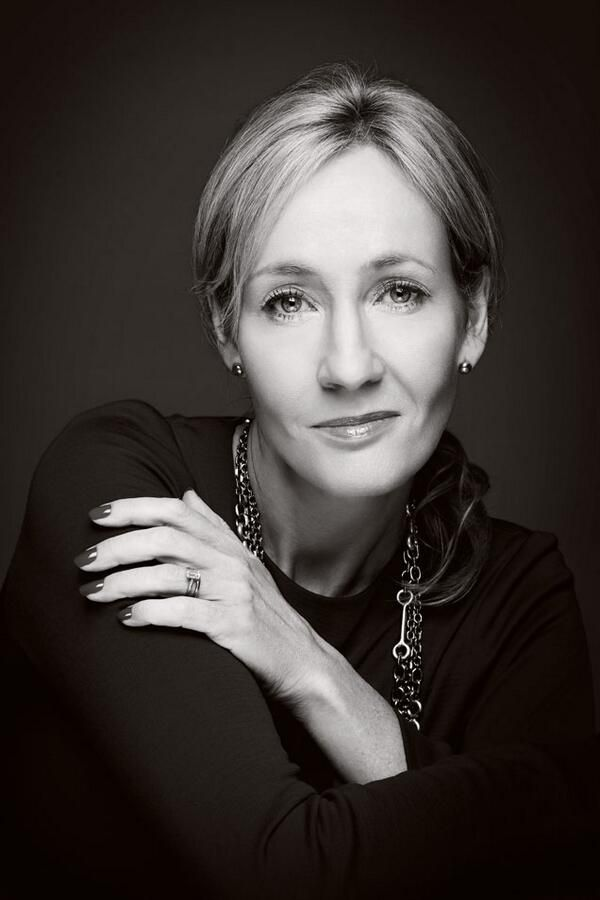 JK Rowling - Great autor of Harry Potter and crime novels. I just love her, she started out with nothing and now she has everything.