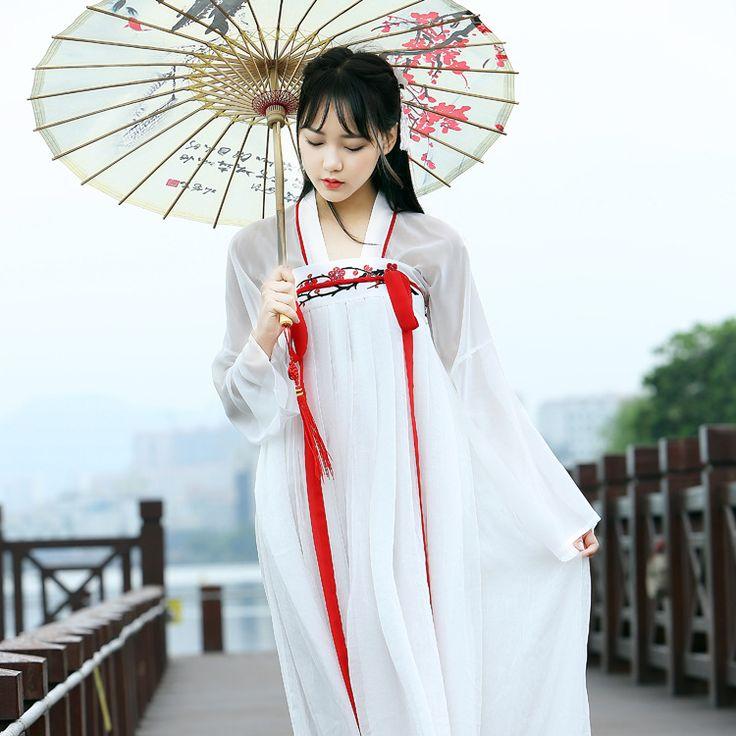 Phụ nữ kong fu cosplay cosplay trang phục Hanfu quần áo Trung Quốc thêu cổ trang phục khiêu vũ giai đoạn vải trang phục cổ điển trắng