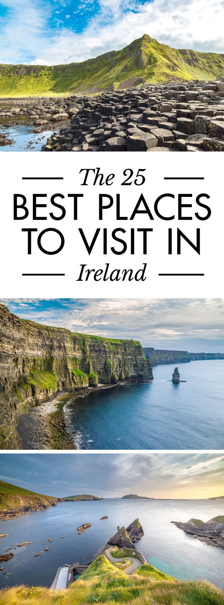 Click the pin to discover some of the best places to visit in Ireland. Don't miss out! There are so many amazing things to do in Ireland. #Ireland