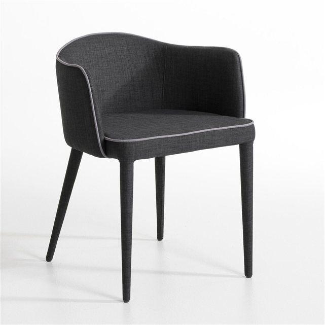 Fauteuil de table Bristol AM.PM : prix, avis & notation, livraison. Entièrement gainé de tissu et souligné d'une impeccable finition passepoilée, un fauteuil de table, à l'élégance très couture. L.55 x P.55,5 x H. 71 cm. Hauteur d'assise 48 cm.