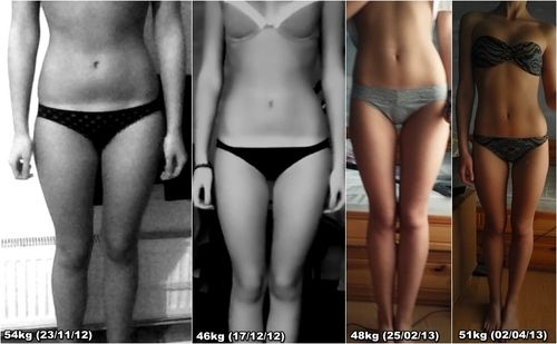 before and after body inspiration