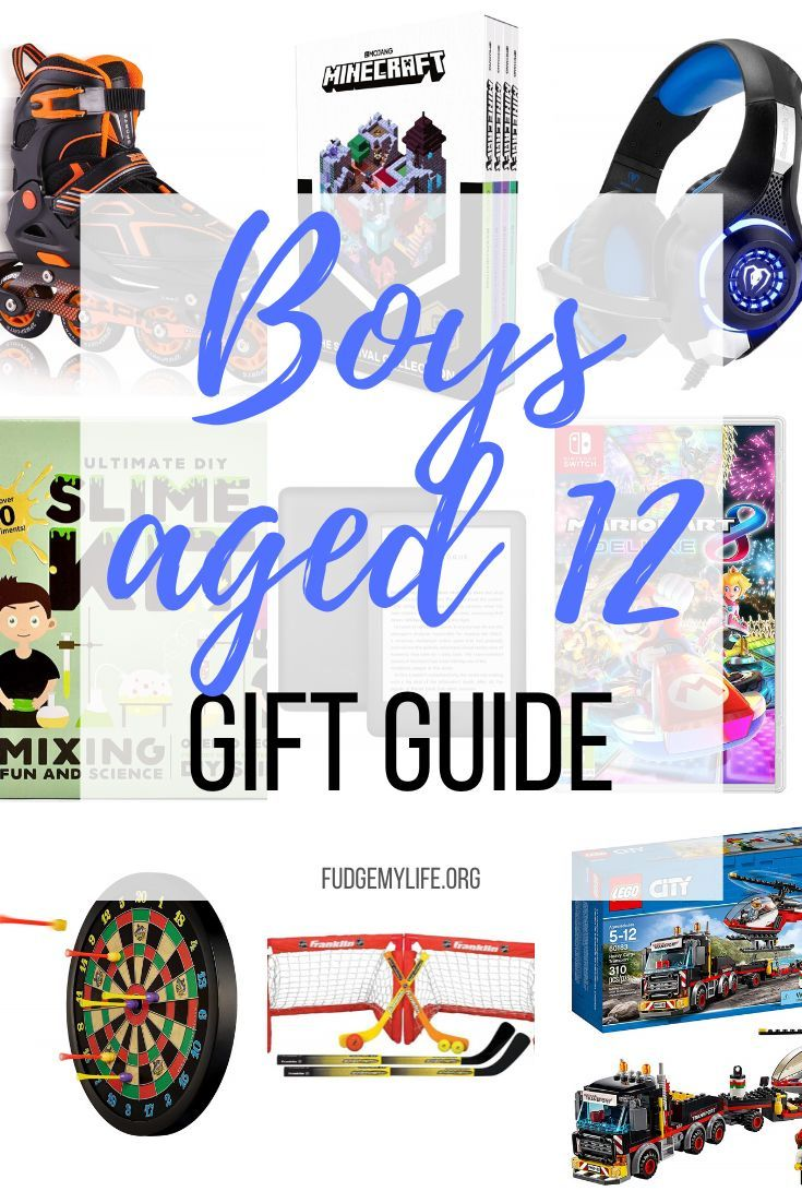 what to get a 12 boy for his birthday