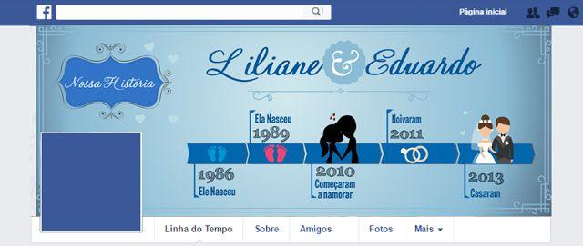 capa para facebook: linha do tempo (casal)