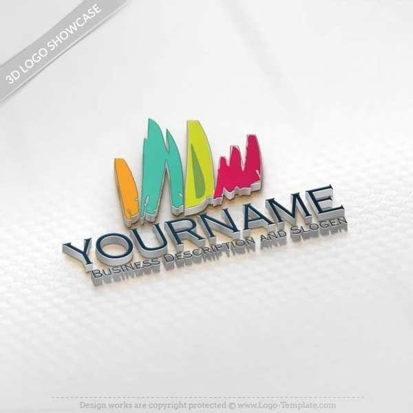 We have 1000's of HD Art logo templates for you to choose from. Make your own Art logo online with our Free Logo Maker. Use the online Art logo creator to change your company logo, text, colors, fonts and more.