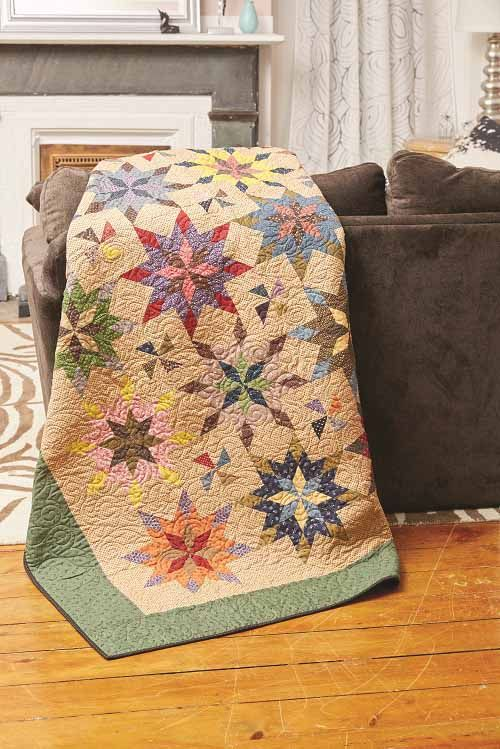 Summer Fireworks Quilt Kit LQK16087