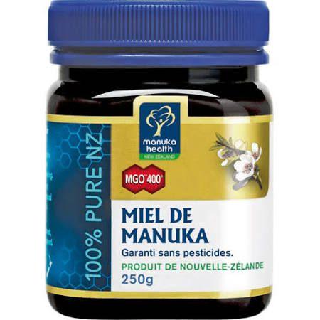 Manuka Health miel de manuka MGO 400+ 250g