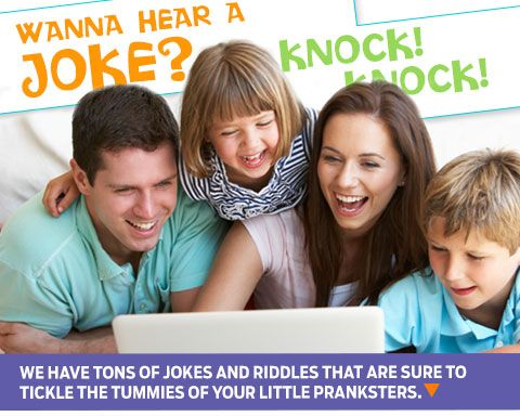 Hilarious jokes and riddles for the whole family
