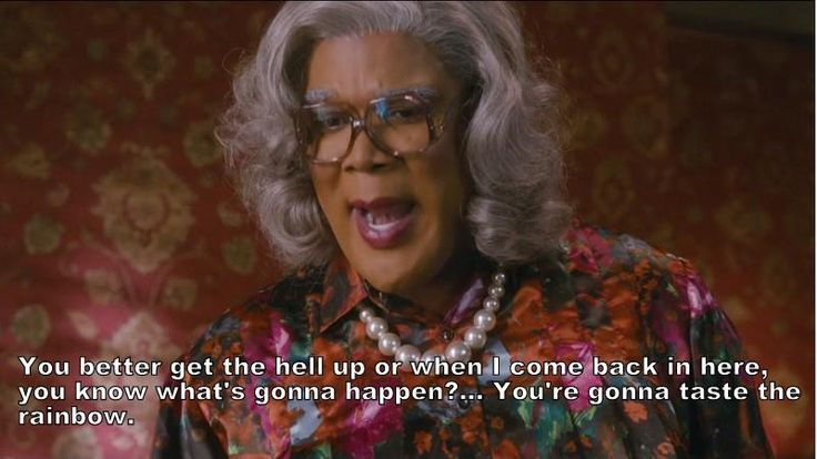 17 Best Images About Madea Quotes On Pinterest: Madea Quotes