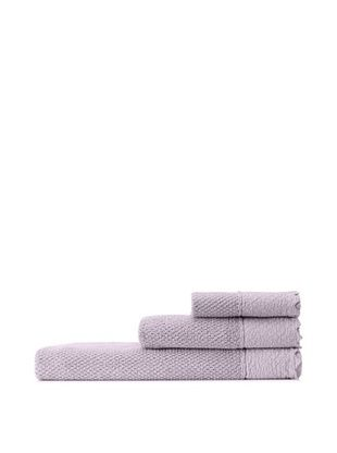 65% OFF Mili Designs NYC Stonewash Towel Set, Lavender