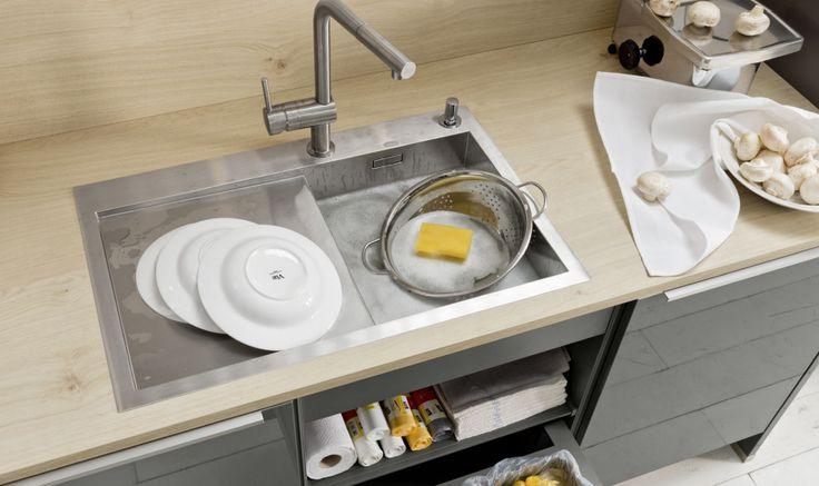 Nolte Küchen Arbeitsplatte Asteiche Natur Küche Pinterest - besteckeinsatz für nolte küchen