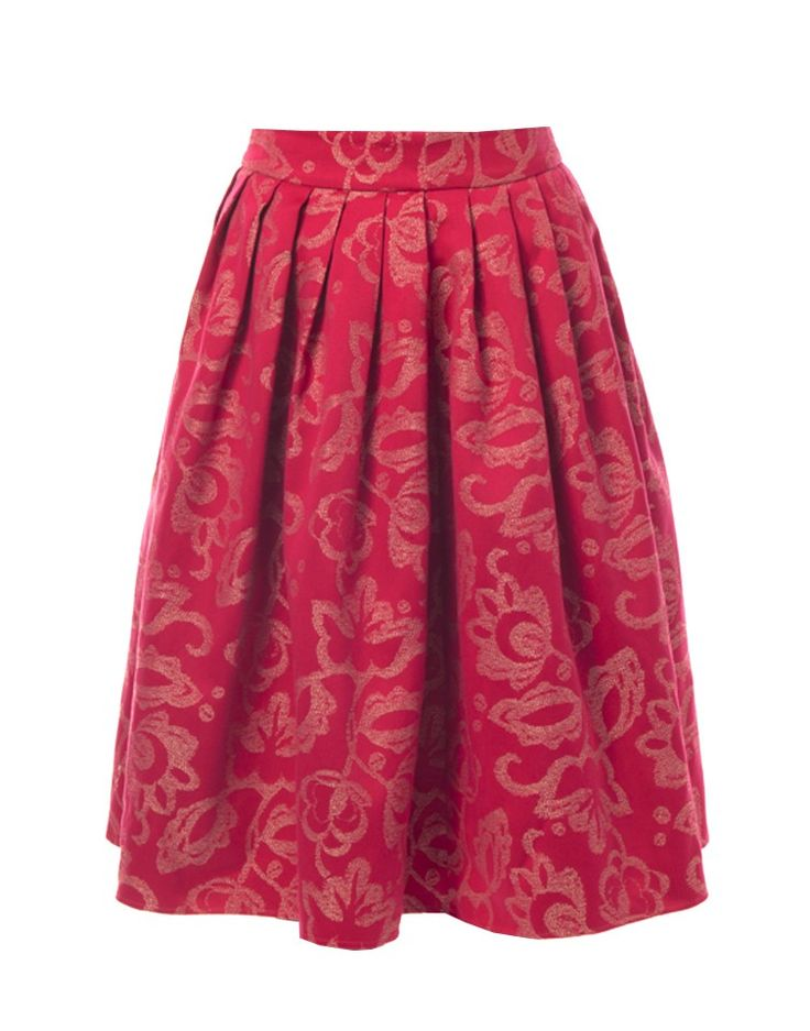 KLUK CGDT | Pleated A-Line Party Skirt - Women - Style36