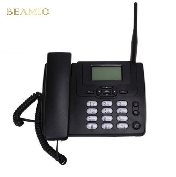 28.00$  Buy here - http://aliw57.shopchina.info/go.php?t=32725325477 - GSM ETS3125i Fixed GSM Phone Desk Landline Telephone With FM Radio 900/1800MHz Fixed Wireless Telephone Home Black  #bestbuy
