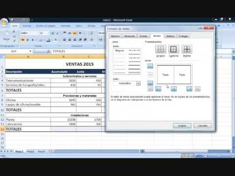 Vídeo 2 ejercicio ventas 2015 | Excel videotutoriales